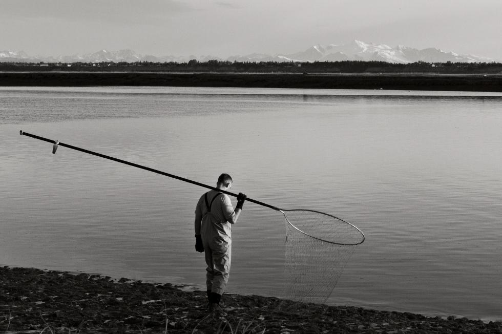 Kenai River Dip-netting