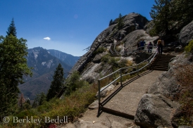 Trail to the top of Moro Rock